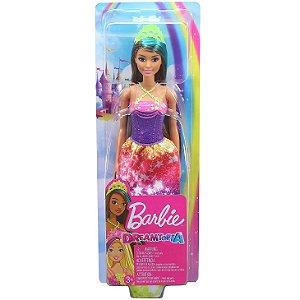 Boneca Barbie Dreamtopia Vestido de Estrelas da Mattel Gjk12