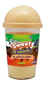 Brinquedo Slime Geleca Slimy Flapuccino Marron 120gr Toyng