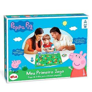 Jogo de Tabuleiro Peppa Pig Meu Primeiro Jogo da Elka 1064