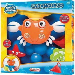 Brinquedo Infantil Banho Divertido Caragueijo da Rosita 9851