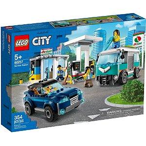 Lego City Service Station Posto de Gasolina 354 Peças 60257