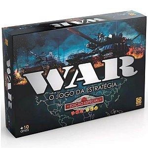 Jogo de Tabuleiro Estrategia War Ediçao Especial Grow 01253