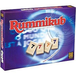 Jogo de Tabuleiro Estrategia Rummikub Original da Grow 02090