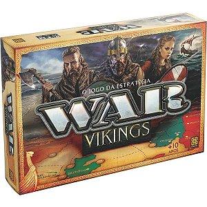 Jogo de Tabuleiro Estrategia War Ediçao Vikings Grow 03450
