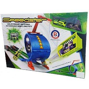 Brinquedo Carro Pista de Desafio Speedster Polibrinq Car011