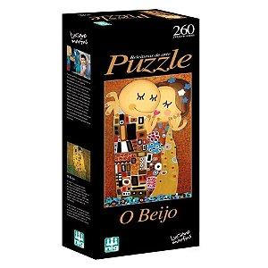 Quebra Cabeça Puzzle O Beijo 260 Peças Nig Brinquedos 0580