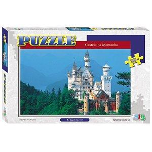 Quebra Cabeça Puzzle Castelo na Montanha Nig Brinquedos 0290