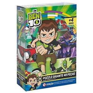Quebra Cabeça Puzzle Gigante Ben 10 com 48 Peças Grow 03773