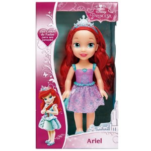 Brinquedo Boneca Disney Princesas Ariel Classica Mimo 6361