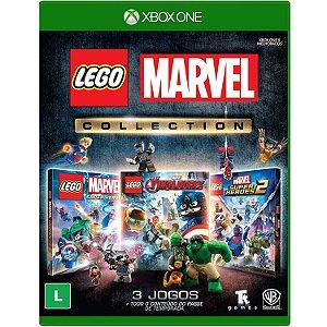 Jogo Novo Midia Fisica Lego Marvel Collection para Xbox One
