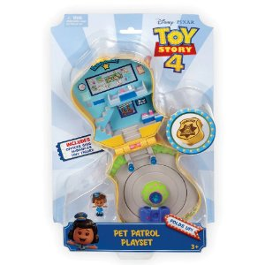 Toy Story 4 Estaçao de Policia Giggle McDimples Mattel Ggx49
