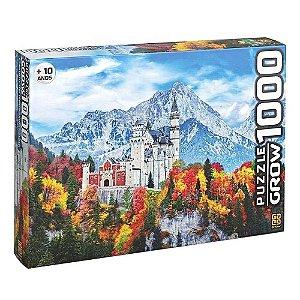 Quebra Cabeça Puzzle Castelo de Neuschwanstein da Grow 03734
