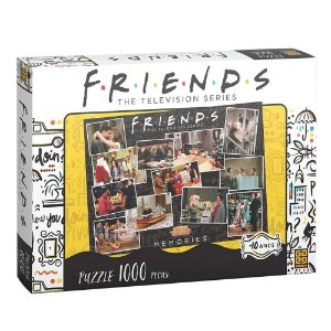 Quebra Cabeça Puzzle Friends com 1000 Peças da Grow 03841
