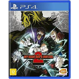 Jogo Midia Fisica My Hero Ones Justice 2 da Bandai para Ps4