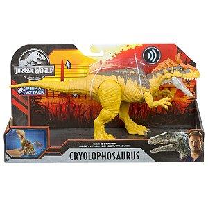 Figura Jurassic World Primal Attack Cryolophosaurus Gjn64