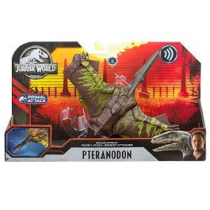 Figura Jurassic World Primal Attack Pteranodon Mattel Gjn64