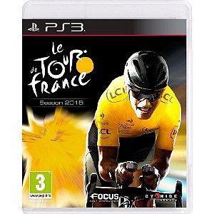 Jogo Novo Midia Fisica Le Tour De France Season 2015 pra Ps3