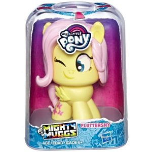 Figura My Little Pony Mighty Muggs Fluttershy Hasbro E4624