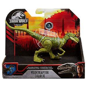 Figura Jurassic World Dino Rivals Velociraptor Charlie Gcr54