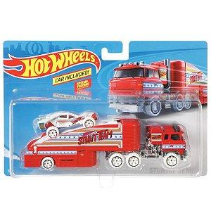 Hot Wheels Caminhões de Transporte Stuntin Semi Mattel Bdw51