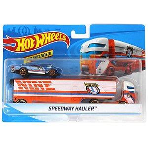 Hot Wheels Caminhões de Transporte HW Speedway Hauler Bdw51