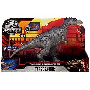 Figura Jurassic World Primal Attack Tarbosaurus Mattel Gjp32