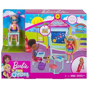 Barbie Club Chelsea Playset Diversao na Escola Mattel Ghv80