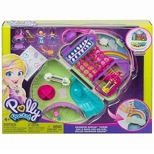 Polly Pocket Micro Playset Bolsa de Arco Iris Mattel Gkj63