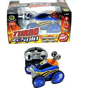Brinquedo Carrinho De Controle Remoto Rc Turbo Spin Dtc