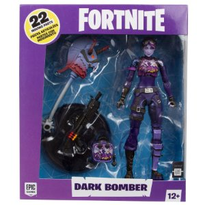 Figura de Açao Fortnite Dark Bomber e Acessorios Fun 84927