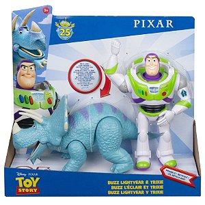 Figura Disney Toy Story Buzz Lightyear e Trixie Mattel Ggb26