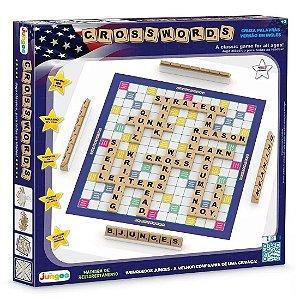 Jogo de Tabuleiro Educativo Crosswords em Ingles Junges 709