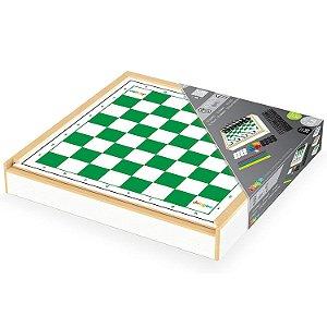 Jogo de Tabuleiro Brinquedo Conjunto 6 em 1 da Junges 716