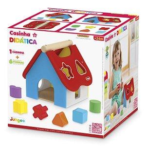 Brinquedo Infantil Casinha Didatica Multicor da Junges 855