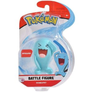 Figura de Batalha Pokemon Pack Unitario Wobbuffet Dtc 4842
