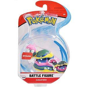Figura de Batalha Pokemon Pack Unitario Muk de Alola 4842