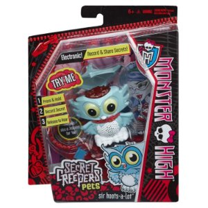 Figura Monster High Pets Secretos Monstruosos Coruja Cbd42