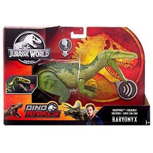 Figura Jurassic World Dino Rivals Baryonyx da Mattel Fmm23