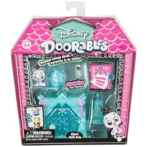 Playset Doorables Disney Mini Cantinho do Olaf da Dtc 5083