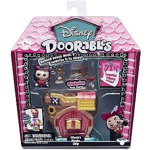 Playset Doorables Disney Navio Pirata do Capitao Gancho 5083
