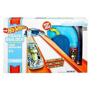 Hot Wheels Track Builder Curve Kicker Pack da Mattel Glc87