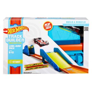 Hot Wheels Track Builder Pista Long Jump Pack Mattel Glc87