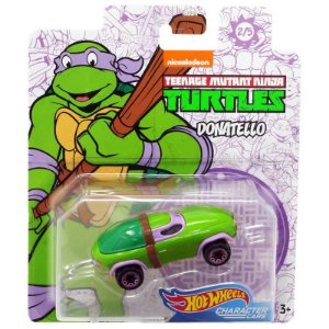 Hot Wheels Carro Tartarugas Ninjas Donatello da Mattel Gjh91