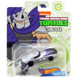 Hot Wheels Carro Tartarugas Ninjas Shredder da Mattel Gjh91