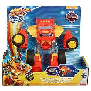 Figura Blaze Monsters Machine Blaze Transformaçao Robo Ftb93