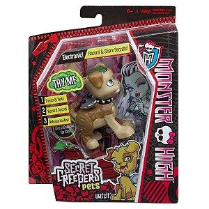 Figura Monster High Pets Secretos Monstruosos Cachorro Cbd42