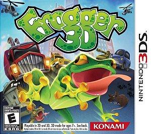 Jogo Novo Lacrado Um Clássico Frogger 3d Para Nintendo 3ds