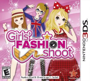 Jogo Novo Lacrado Girls Fashion Shoot Para Nintendo 3ds
