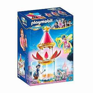 Brinquedo Playmobil Super 4 Floral Torre Encantada Som 6688