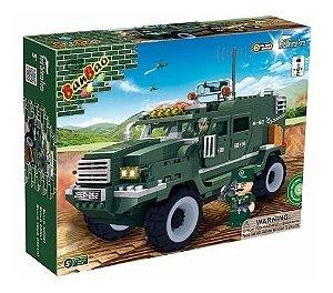 Bloco De Montar Banbao Força Tática Veículo Militar 8252